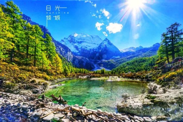 5月1日蓝色星球的稻城亚丁5日自驾:仙乃日,夏诺多吉,央迈勇你与三神山的邂逅