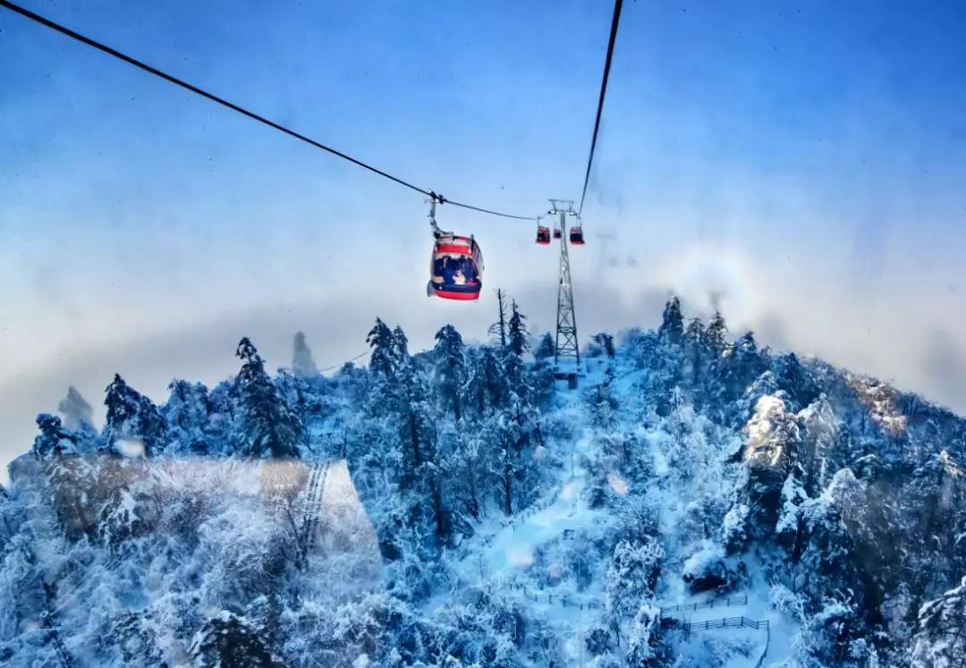 12月28日活动召集:穿越在雾凇的童话的世界,瓦屋山玩雪2日休闲自驾